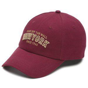 Vans Women's NYC Courts OS Burgundy Baseball Hat